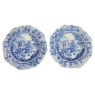 1820s Staffordshire Bowls - a Pair