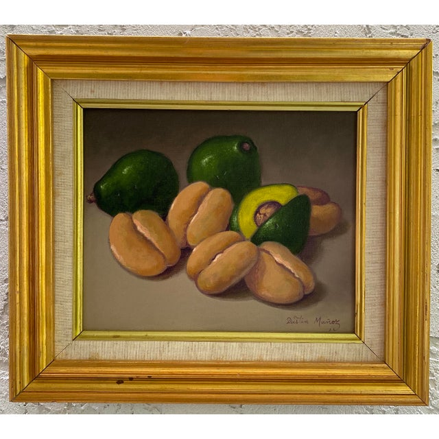 Avocado Still Life Painting, Framed For Sale - Image 9 of 9