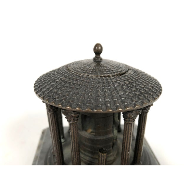 Late 19th Century 19th Century Neoclassical Grand Tour Bronze Model of the Temple of Vesta, Rome For Sale - Image 5 of 8