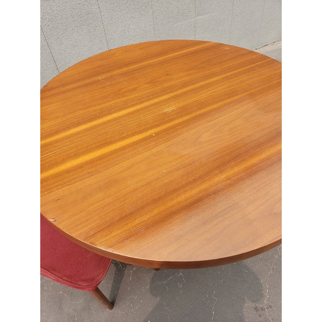 1950s 1950s Mid Century Dining Set - 5 Pieces For Sale - Image 5 of 6