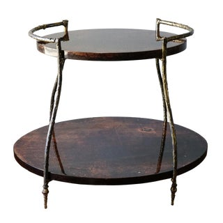 1960s Hollywood Regency Aldo Tura Cocktail Table For Sale