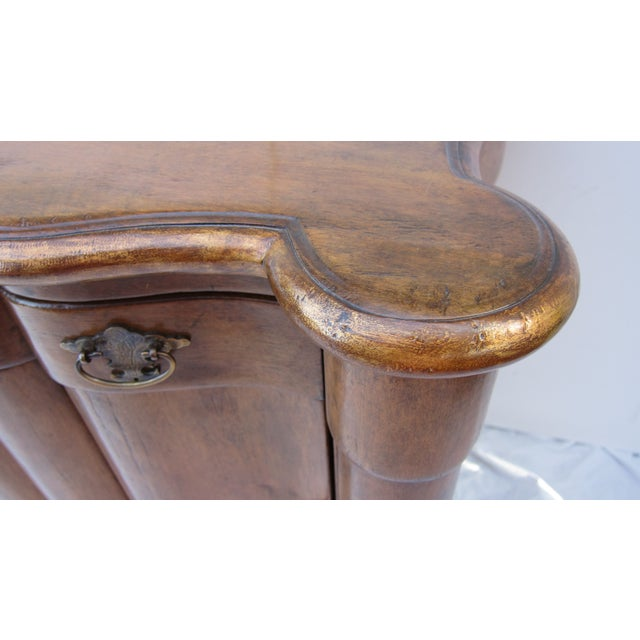 Italian Style Wood End Tables - A Pair - Image 5 of 7