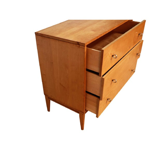Winchendon Furniture Company Mid Century Modern Paul McCobb Planner Group Dresser Chest For Sale - Image 4 of 9