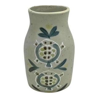 Handmade Danish Pottery Vase For Sale