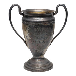 1930 Silver Plated Trophy