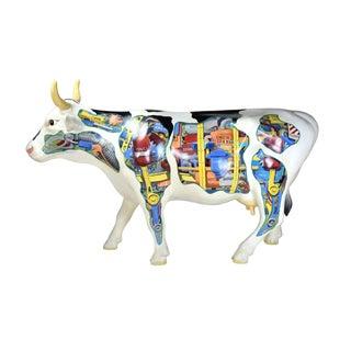 "1999 Ken Kouba ""Industrial Cow"" Life Sized Sculpture For Sale"