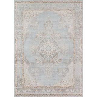 Momeni Isabella Alisha Blue 4' X 6' Area Rug For Sale