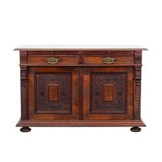 1900s Renaissance Walnut Sideboard