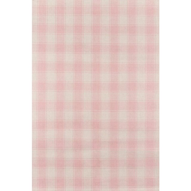 Erin Gates Marlborough Charles Pink Hand Woven Wool Area Rug 5' X 8' For Sale
