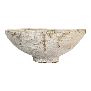 Early 20th Century Distressed Turkish Bowl/Centerpiece For Sale