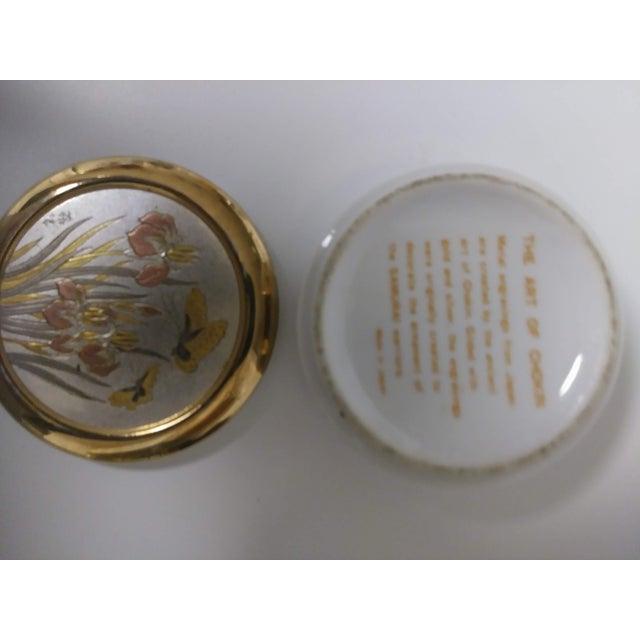 1960s Japanese Chokin Gold Trinket Box For Sale In Las Vegas - Image 6 of 7