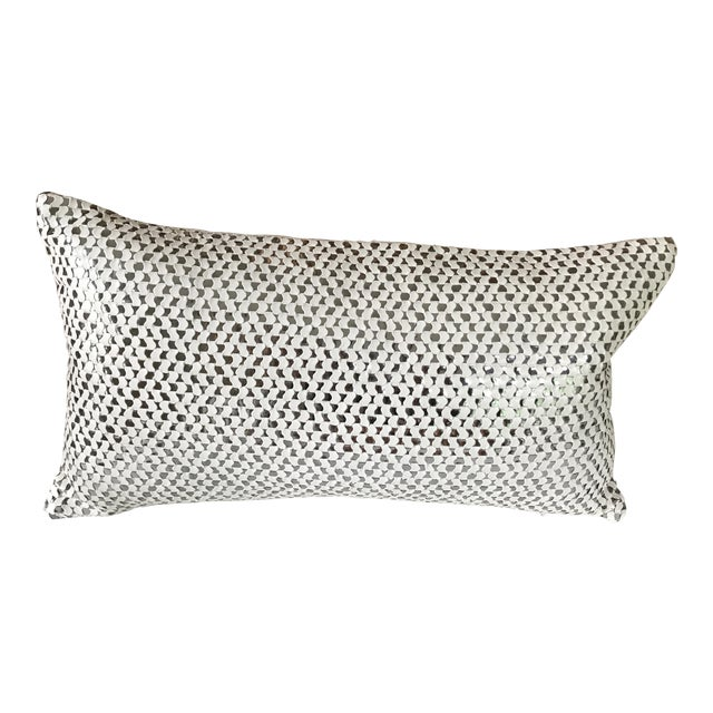 Modern Textured Pillow - Image 1 of 5