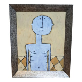 Unfolded Arms Painting by Shawn Savage For Sale
