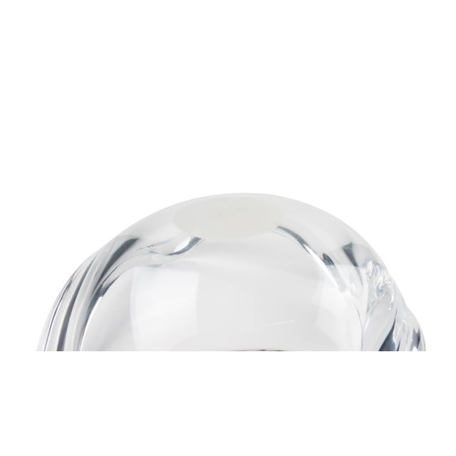 Transparent 1970s Mid-Century Modern Ritts Co. Astrolite Lucite Bowl For Sale - Image 8 of 10