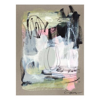 """Lesley Grainger """"Sassy No. 2"""" Original Abstract Painting For Sale"""