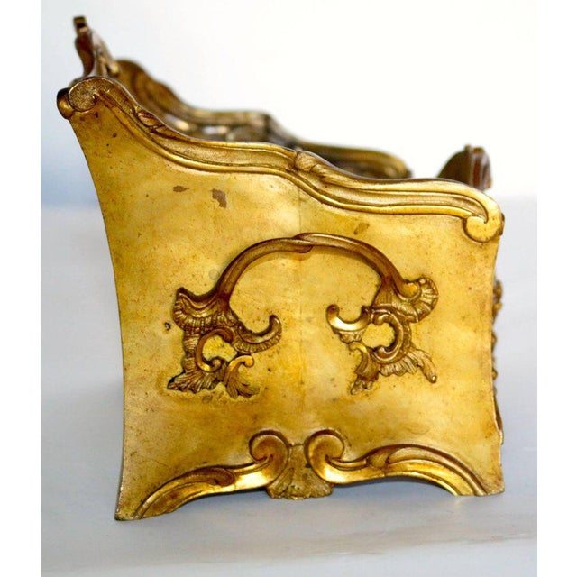 19th Century French Decorated Gilt Bronze Box - Image 3 of 11