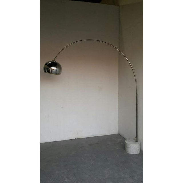 Mid-Century Italian Arc Floor Lamp - Image 3 of 3