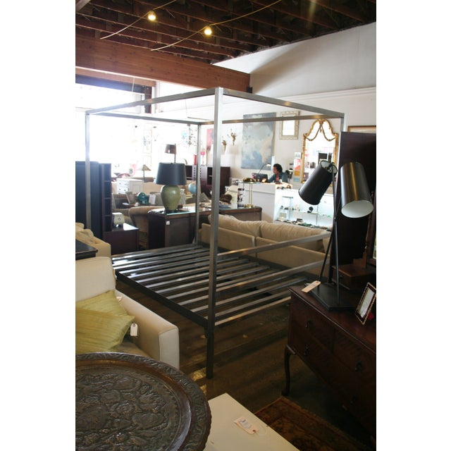 Room & Board Architecture Queen Bed Frame | Chairish