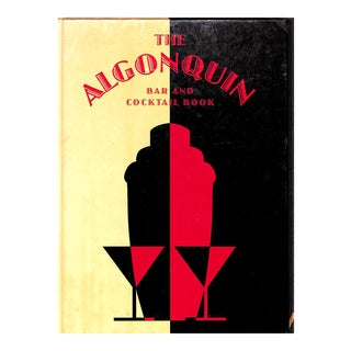 The Algonquin Bar and Cocktail Book For Sale