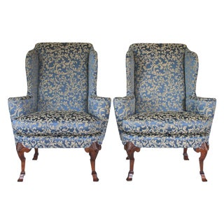 Wingback Chairs - a Pair For Sale