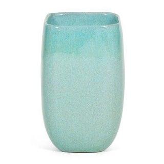 Large Turquoise Glidden Ceramic Vase Preview