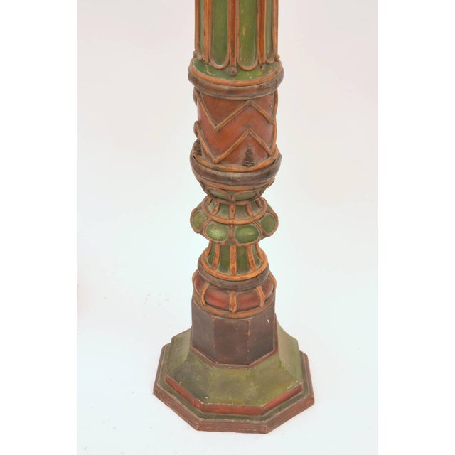 Napoleon III Late 19th Century Napoleon III Torchere Columns - a Pair For Sale - Image 3 of 5