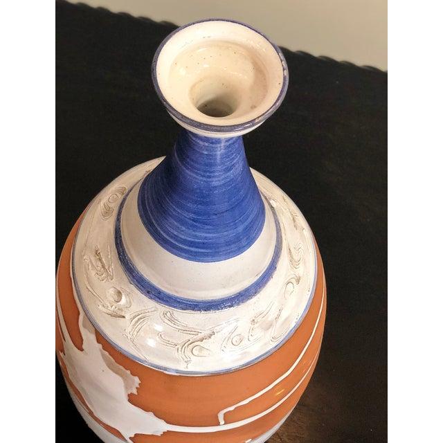 Mediterranean Large Vase For Sale - Image 3 of 5