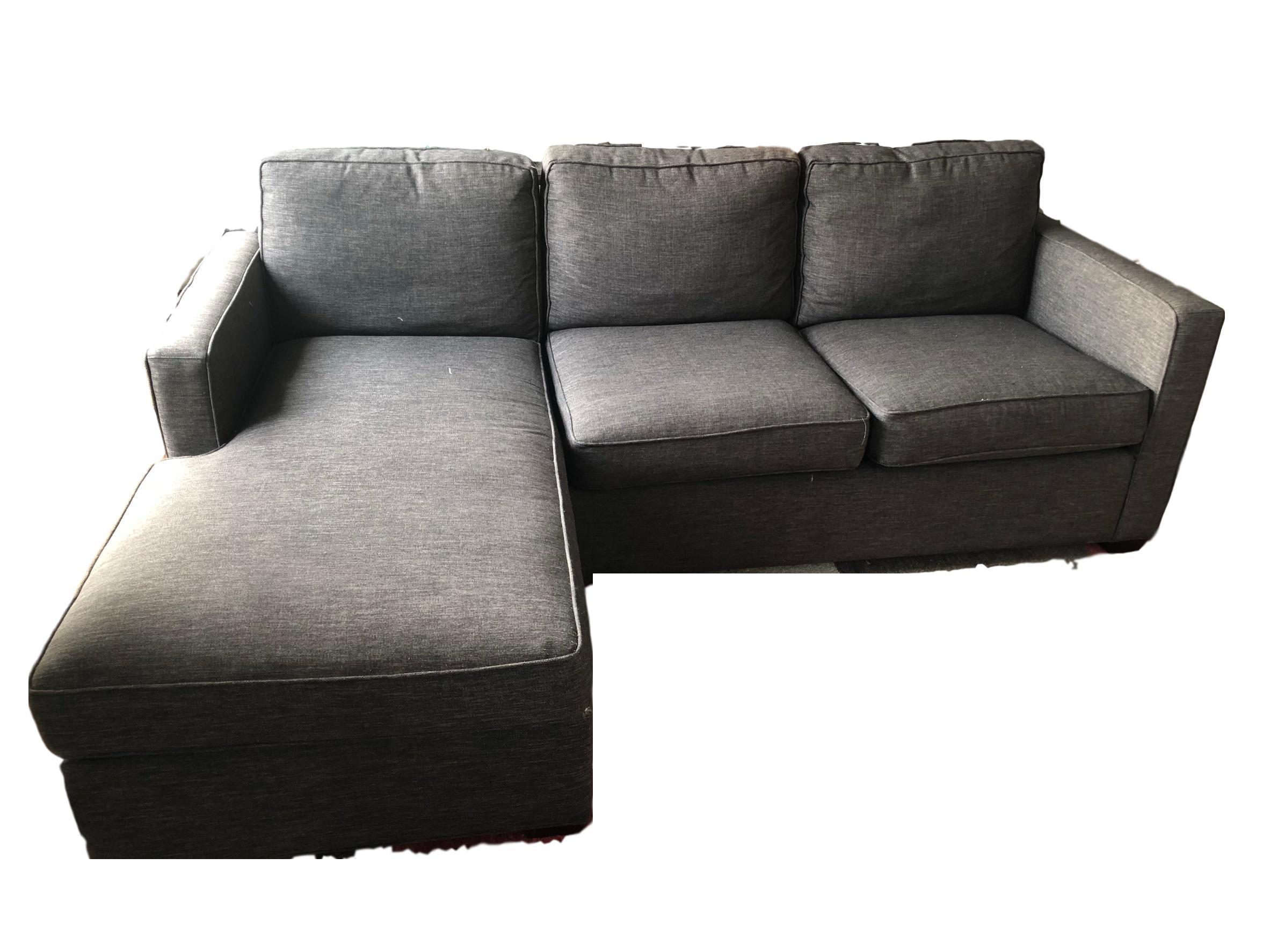 Crate U0026 Barrel Lounge II Petite 2 Piece Sectional Sofa