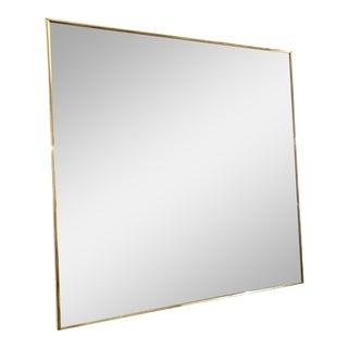 Vintage Mid Century Modern Greg Copeland Style Geometric Pop Op Art Mirror For Sale