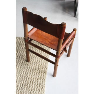 1960s Vintage Arne Norell Safari Chairs- Set of 5 Preview