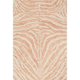 "Loloi Rugs Masai Rug, Blush / Ivory - 3'6""x5'6"" For Sale"