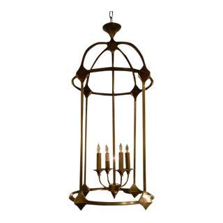 Currey & Co. Transitional Brass Bellario Lantern For Sale