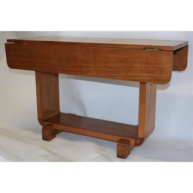 Shirley Temple's Art Deco Drop-Leaf Child Table - Image 3 of 10