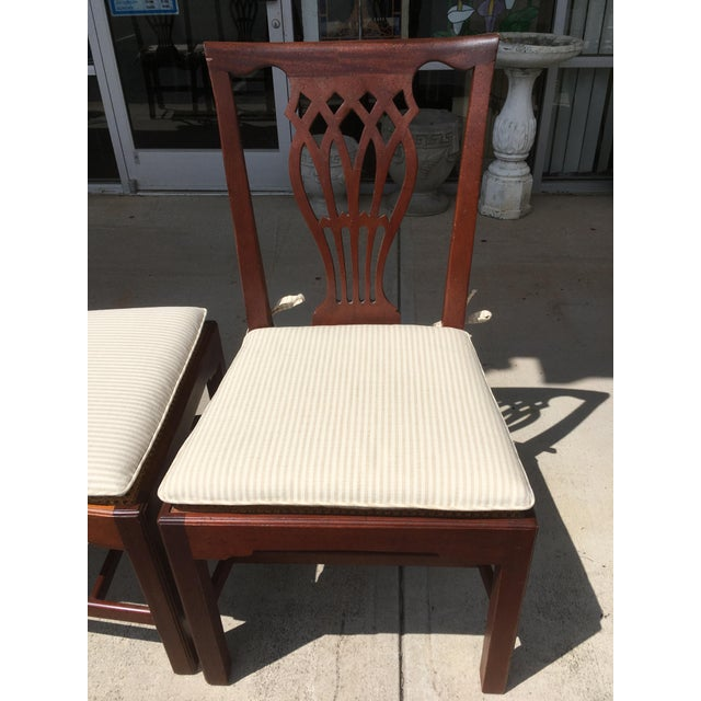 Baker Furniture Dining Chairs - Set of 4 - Image 5 of 6