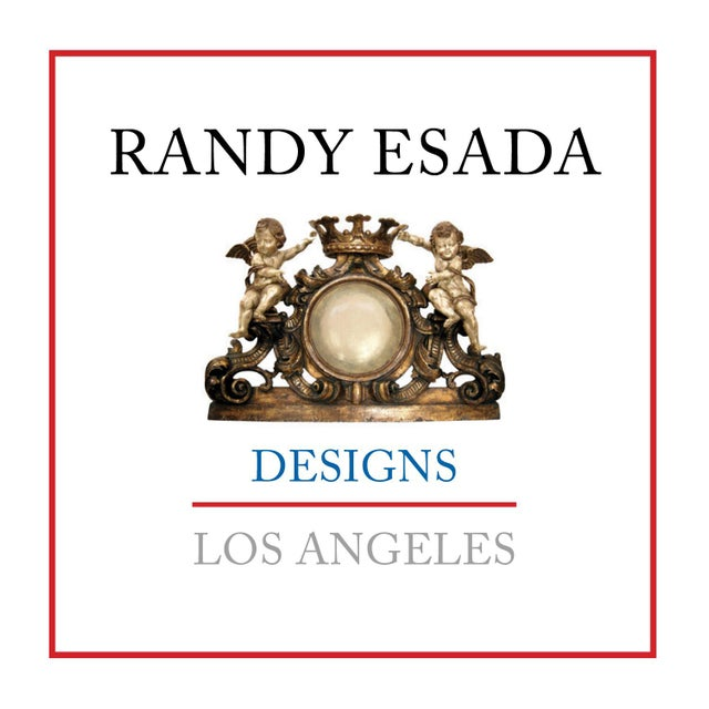 Italian Contemporary Randy Esada Designs for PROSPR White Gold Carved Italian Three Arm Castle Sconces - a Pair For Sale - Image 3 of 5