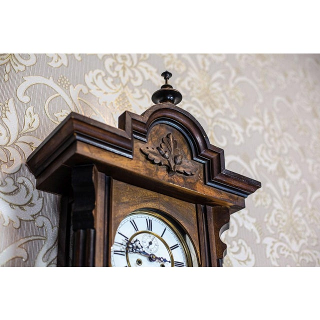 19th-Century Wall Clock For Sale - Image 10 of 13