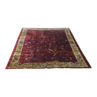 1920 Peking Chinese Rug - 9′2″ × 11′7″ For Sale