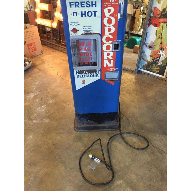 Vintage Functional Popcorn Dispenser For Sale In Sacramento - Image 6 of 10