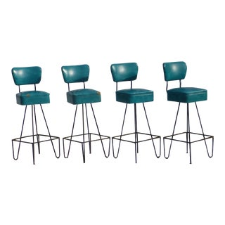 Fredrick Weinberg Bar Stools ~ Set of 4