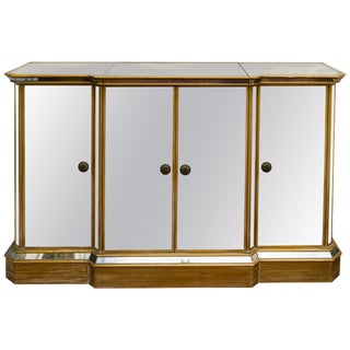 1950s Mirrored Sideboard/Bar For Sale
