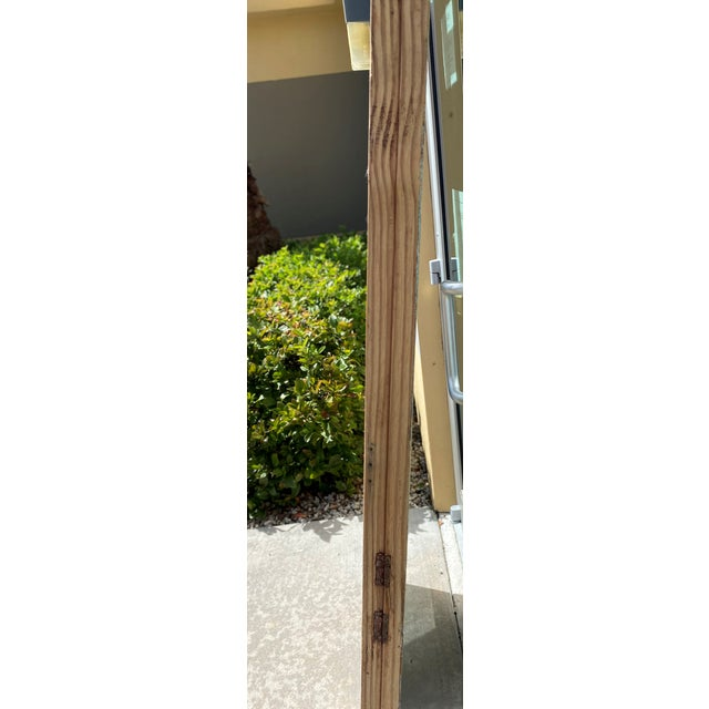 Wood Vintage French Country Doors - a Pair For Sale - Image 7 of 10