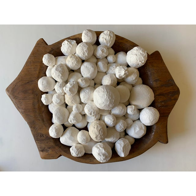 Modern Plaster Decorative Ball Accents - 30 Pieces For Sale In Palm Springs - Image 6 of 6