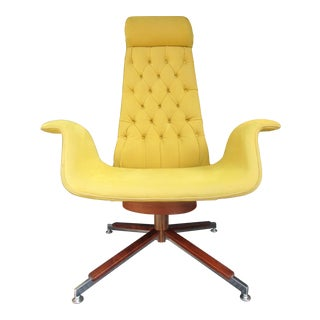 Mid-Century Modern Swivel Rocker For Sale