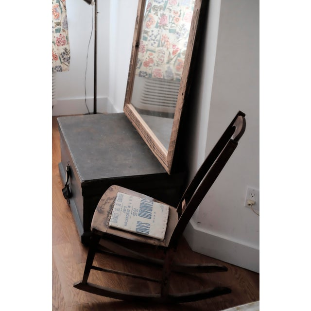 Antique Sewing Nursing Rocking Chair - Image 3 of 8 - Antique Sewing Nursing Rocking Chair Chairish