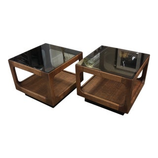 Vintage Pair Midcentury Modern Tables For Sale