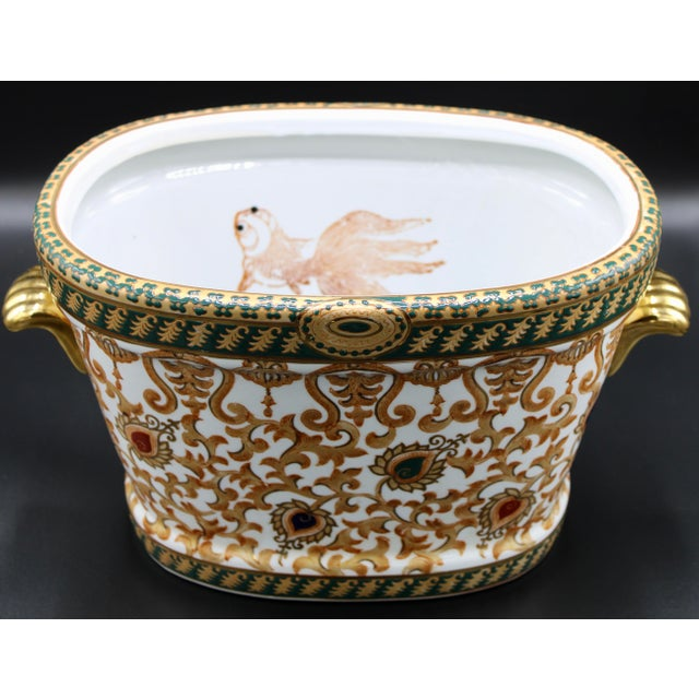 1970s Chinese Porcelain Foot Bath For Sale - Image 9 of 10