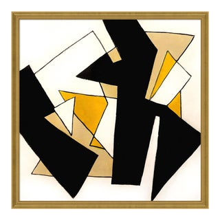 New Horizons by Ilana Greenberg in Gold Frame, Medium Art Print For Sale