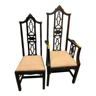 Hollywood Regency Chairs - Set of 2 For Sale