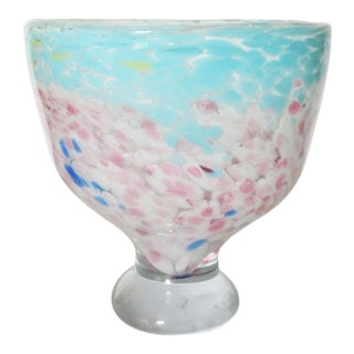 Murano Glass Mid Century End of the Day Bowl For Sale