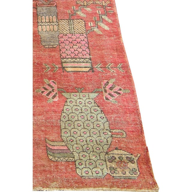 Extremely rare vintage Uzbek Aamarkand Khotan. From early-19th century approximately circa (1900-1905), wool with cotton...